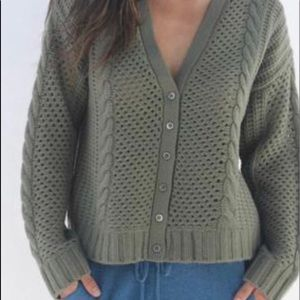 OATS Cashmere Cardigan Sweater - NWT